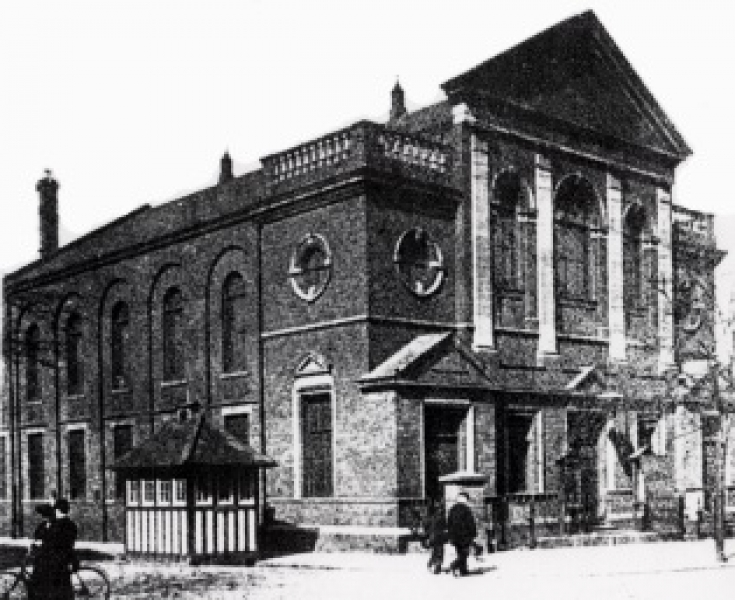 Newington Presbytarian Church 1905​.​