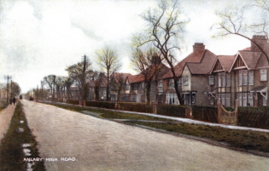 Anlaby High Road 1920s.​