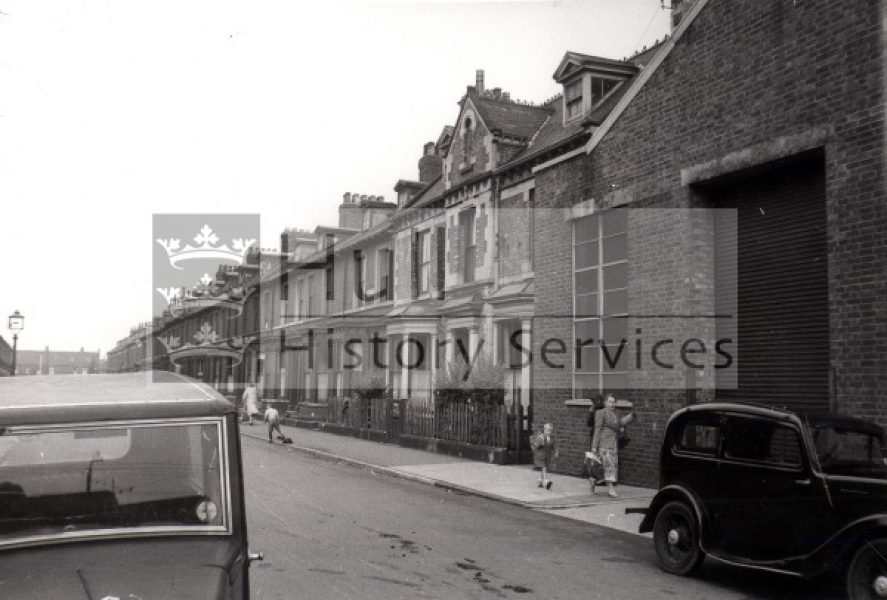 Fountain Street 1950s, courtesy of Hull History Services.