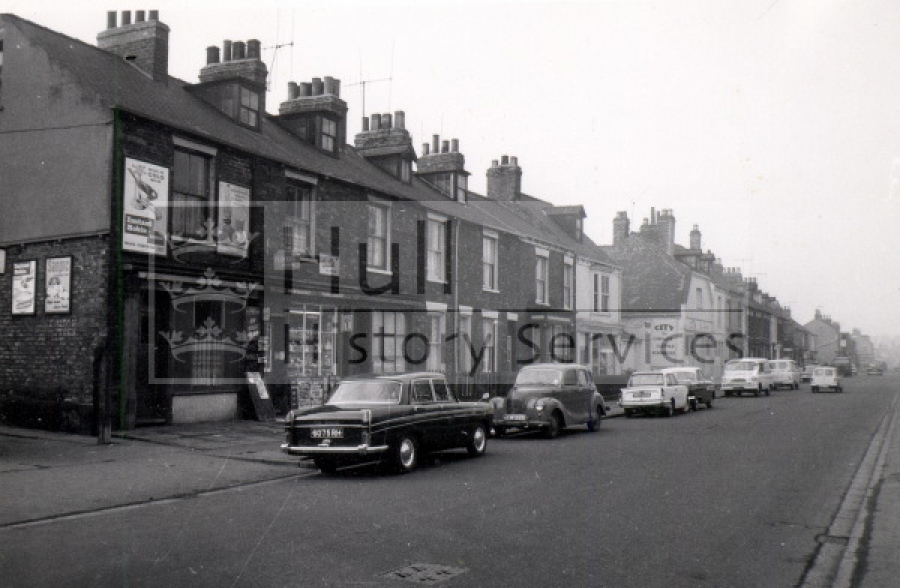 Walton Street Nos 59-61 near Dalton Street, courtesy of Hull History Services.