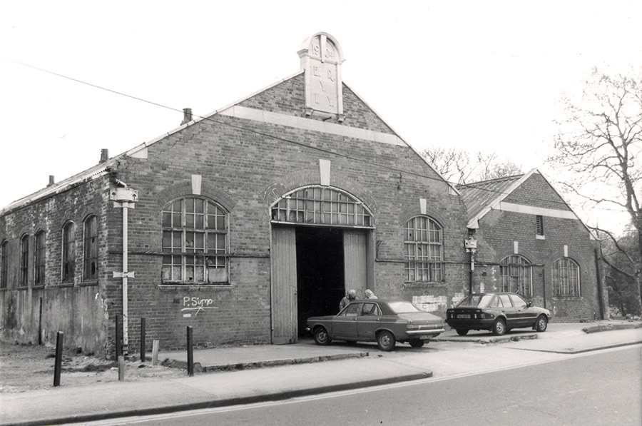 Walton Street Barracks 1990s​.​