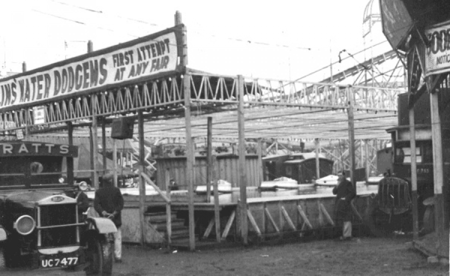 Hull Fair water dodgems, 1930s​.​