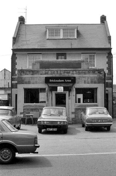 Walton Street, Brickmakers Arms, 1980​.​