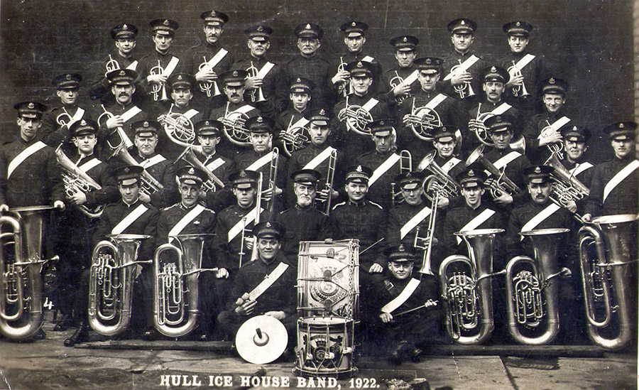 The Salvation Army Ice House Band, 1922