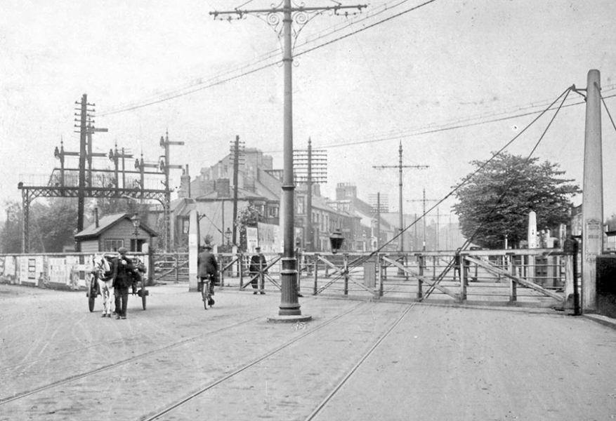 Selby Street  junction, 1920​.​