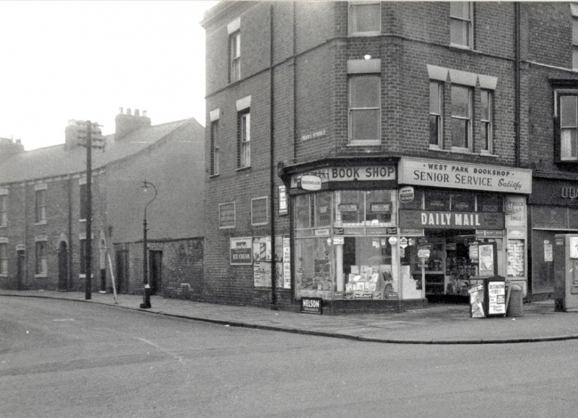 Perry Street junction, 1950s.
