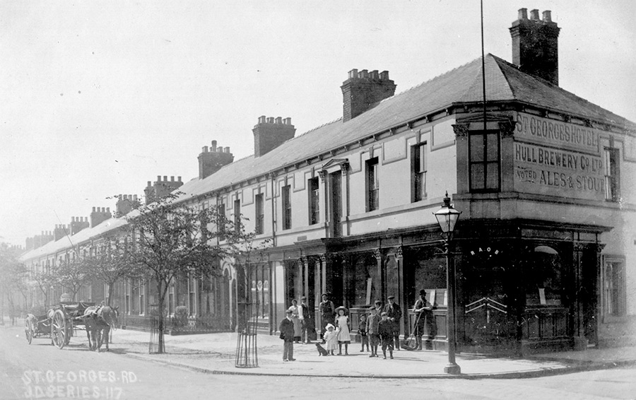 St Georges Road, St Georges Hotel, 1905.