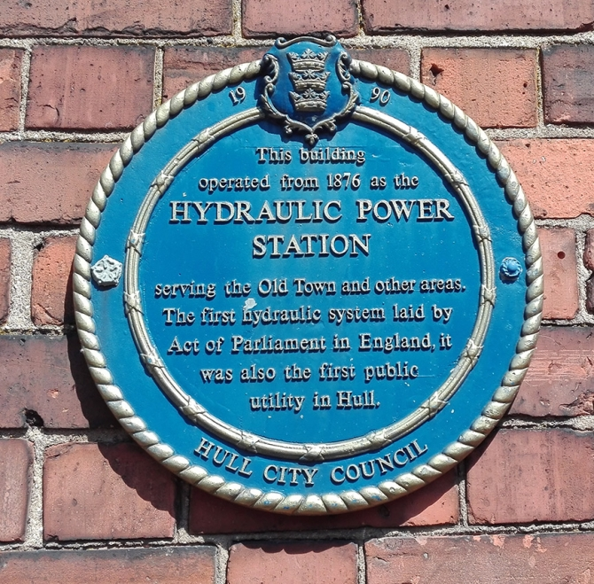 The first hydraulic system laid by Act of Parliament in England. 1876 to 1947.